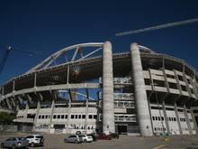 Festnahmen nahe des Engenhao Stadions in Rio