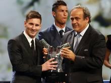 Michel Platini gilt als Favorit bei der FIFA-Wahl