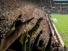 Dynamo Dresden muss drei Spiele auf Teile der Fans verzichten
