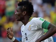 Asamoah Gyan mit Last-Minute-Siegtor gegen Algerien