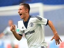 Paul Stieber erzielte den Führungstreffer für Schalke