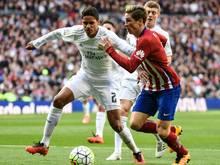 Varane (l.) verpasst wohl das Champions-League-Finale
