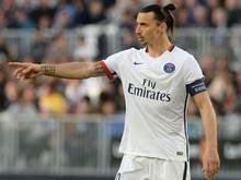 Zlatan Ibrahimović verkündet seinen Abschied von St. Germain