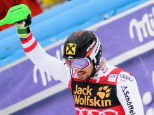 Hirscher erhält zum vierten Mal die Auszeichnung