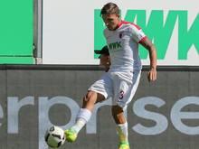 Konstantinos Stafylidis erzielte den einzigen Treffer für Augsburg