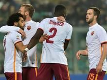 Antonio Rüdiger und die AS Roma dürfen jubeln