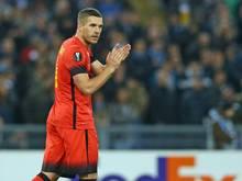 Lukas Podolski vermeidet ein klares Treuebekenntnis