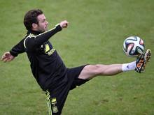 Juan Mata glaubt ans Weiterkommen