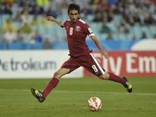 Ali Assadalla traf zum 1:0-Sieg für Katar