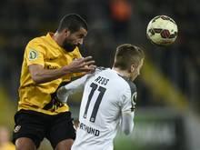Nils Teixeira (l.) hat seinen Vertrag verlängert