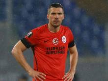 Lukas Podolski fällt bei Galatasaray füt einen Monat aus