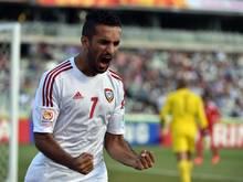 Traf bereits nach 14 Sekunden: Ali Mabkhout
