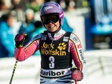 Im Super-G erfolgreich: Viktoria Rebensburg