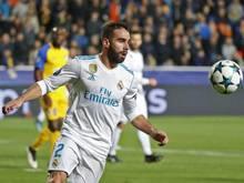 Fehlt Madrid im Achtelfinal-Hinspiel: Dani Carvajal