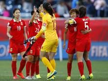 Frauen-WM: Fei und China im Viertelfinale gegen die USA