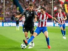 Thomas Müller und die Bayern verlieren gegen Atlético