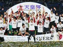 Die Kashima Antlers sind japanischer Pokalsieger