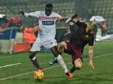 Die Roma schlägt den Carpi FC 1909 mit 3:1