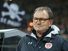Ewald Lienen ist trotz des Ausscheidens mit dem Team zufrieden
