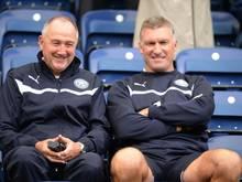 Steve Walsh (l.) verlässt Leicester