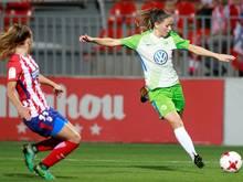 Sara Gunnarsdóttir traf gegen Florenz doppelt