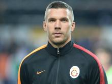 Podolski fehlt Galatasaray wegen einer Bänderverletzung
