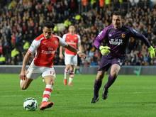 Alexis Sanchez hält Arsenal auf Champions-League-Kurs