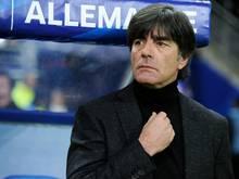 Joachim Löw hat gelassen auf die Auslosung reagiert