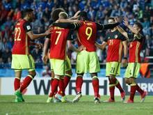 Belgien feiert einen 2:0-Auswärtssieg in Estland
