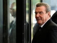 Gerhard Schröder kann die Kritik nicht nachvollziehen