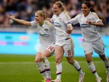 Lyon feiert Kantersieg in der Champions League