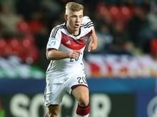 Max Meyer musste das Training der U21 abbrechen