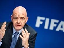 Infantino verteidigt Pläne zur WM-Aufstockung