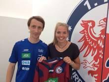 Nina Ehegötz (r.) wechselt nach Potsdam