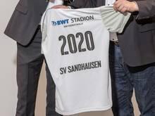 """Sandhausen spielt nun im """"BWT-Stadion am Hardtwald"""""""