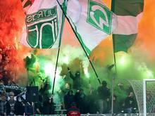 Der DFB verurteilt Werder zu 8000 Euro Geldstrafe