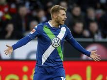 Erstes Tor im ersten Spiel für den HSV: Aaron Hunt