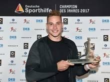 """Vetter ist """"Champion des Jahres 2017"""""""