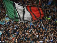 Die Lazio-Fans sind wieder im Fokus der Polizei