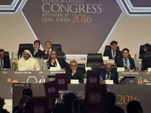 Eklat beim AFC-Kongress in Indien