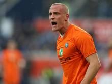 Tobias Nickenig fehlt Aue beim Spiel in Düsseldorf