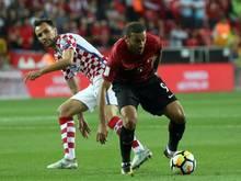 Knapp: Die Türkei gewinnt 1:0 gegen Kroatien