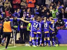 CD Alavés steht nach einem 1:0-Sieg gegen Celta Vigo im Endspiel der Copa del Rey