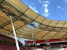 Die Mercedes-Benz-Arena erhält ein neues Dach