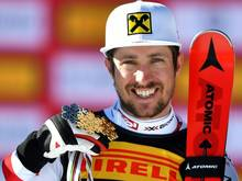 Marcel Hirscher hat den WM-Slalom gewonnen