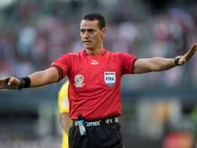 Leitet das Match zwischen Deutschland und Kamerun: Wilmar Roldán