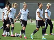Bei Deutschland werden einige Stammspielerinnen geschont