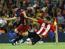 Bilbao stoppt Messi und Co. auch im Rückspiel