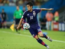 Kagawa trifft mit Japan unter anderem auf Australien