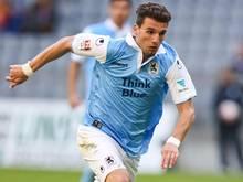 Matchwinner: Valdet Rama trifft zum Sieg für 1860